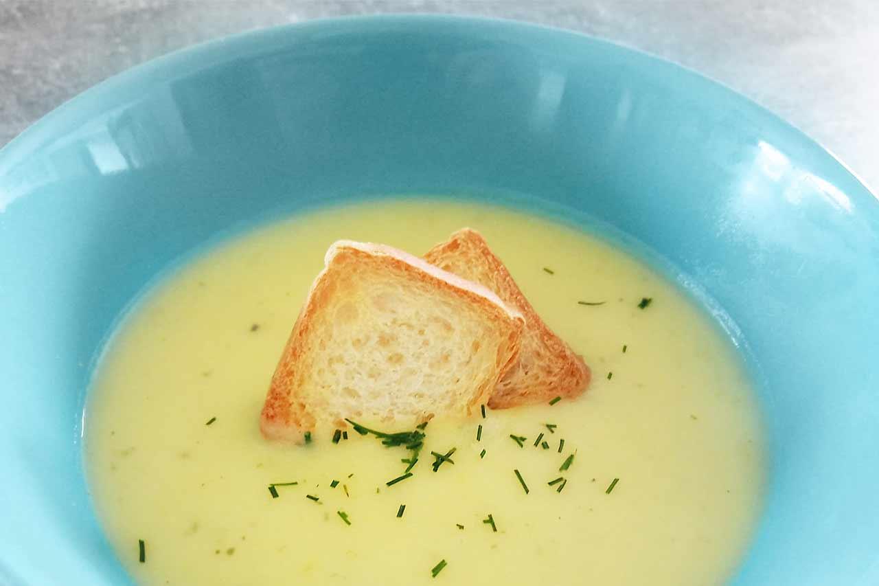 Przepis na zupę krem z cukinii